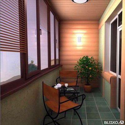 Дизайнерские балконы с отделкой под ключ