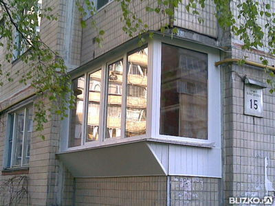 Балконы с выносом под ключ