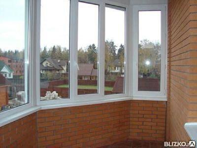 Балконы ПВХ, фото 2