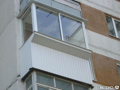 Балкон с выносом вперед под ключ, фото 2