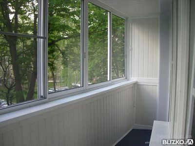 Холодное остекление балконов конструкции без терморазрыва