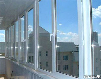 Остекление балкона ПВХ, фото 2