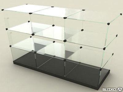 Полки из стекла с доставкой и установкой, фото 2