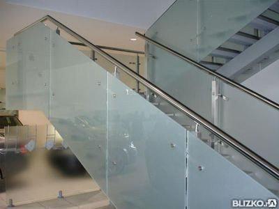 Лестничные ограждения проектирование и монтаж, фото 2