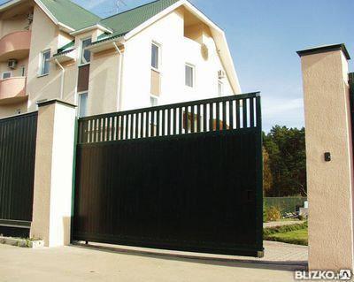 Ворота сдвижные с автоматикой, фото 2