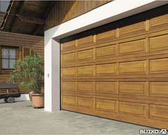Ворота для гаража под ключ