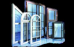 Нестандартные окна с ламинацией и тонированием под ключ