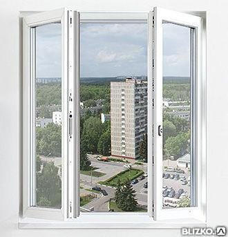 Штульповые окна с доставкой и установкой