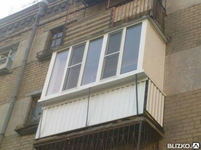 Балконы из П.В.Х