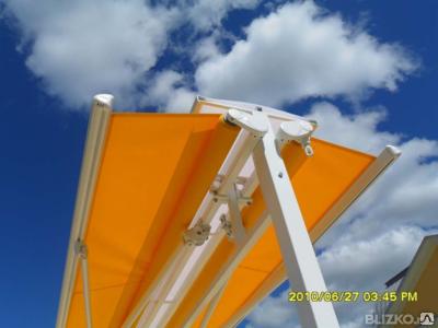 Маркизы двухсторонние раздвижные, доставка, установка, фото 2