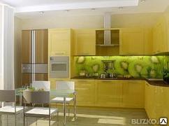 Фартук стеклянный кухонный