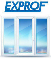 Окна EXPROF профиль Practica 3-х камерный