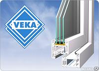 Окна VEKA профиль EUROLINE трехкамерный, доставка и монтаж