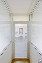 Двери алюминиевые Alutech
