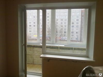 Пластиковое окно балконный блок с доставкой и монтажом
