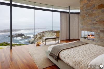 Панорамные окна в частный дом под ключ