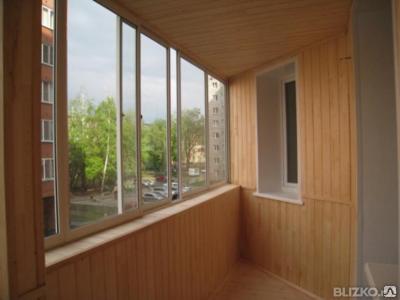 Отделка лоджий деревом, внутренняя отделка балконов и лоджий вагонкой, фото 2