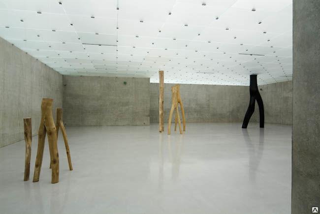 Монтаж стеклянных потолков с подсветкой glasmarte