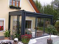 Терраса стеклянная glasmarte, доставка и монтаж