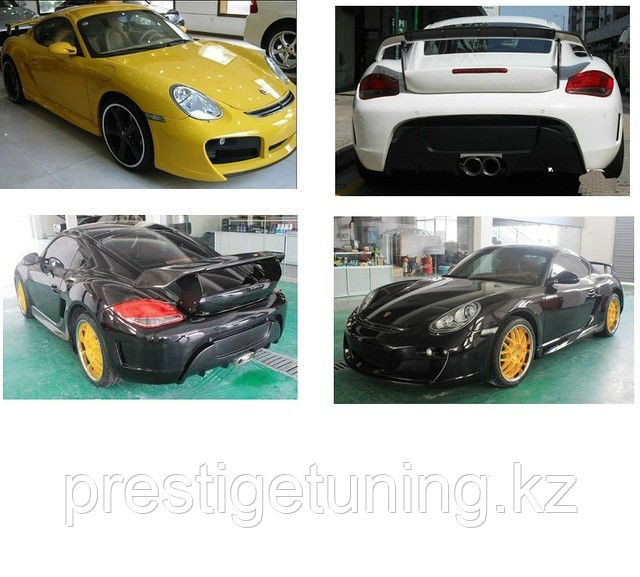 Обвес на Porsche Boxster/Cayman 987