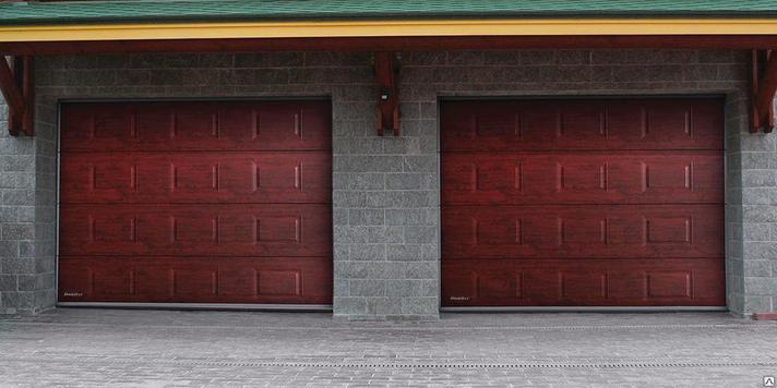 Подъемно-секционные ворота, фото 2