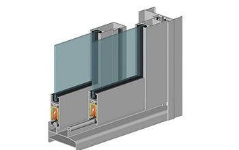 Алюминиевый балкон с системой профилей Alutech, фото 2