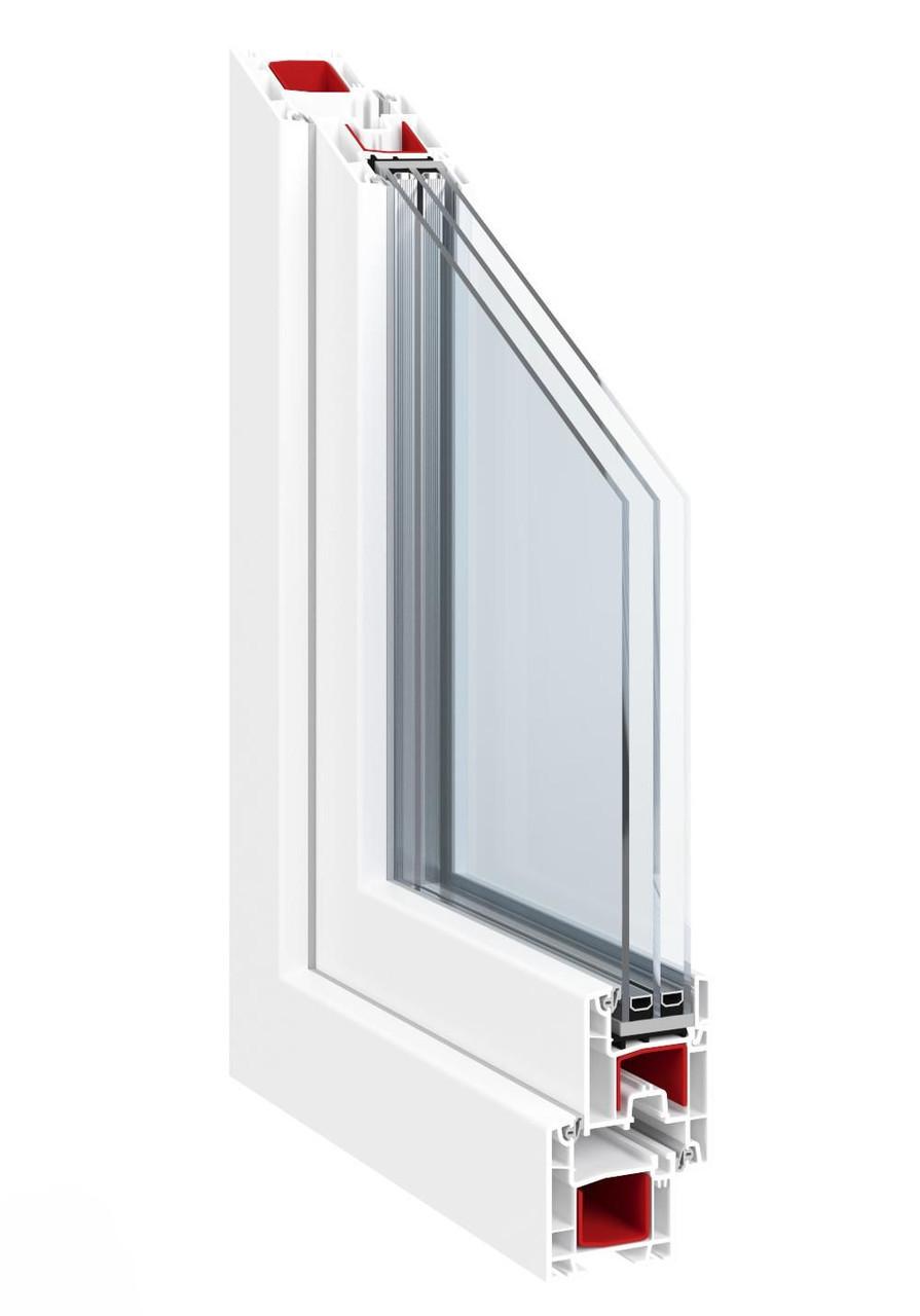 Балконы ПВХ профильная система Vektor