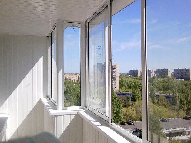 Балконные окна с установкой, фото 2