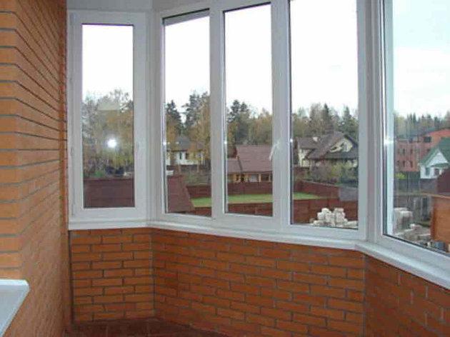 Балконные рамы ПВХ, фото 2