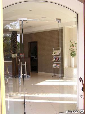Дверь из закаленного стекла, фото 2