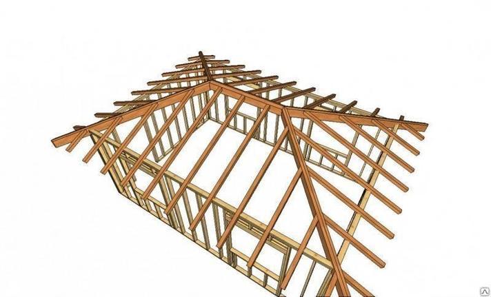 Вальмовая  крыша, фото 2