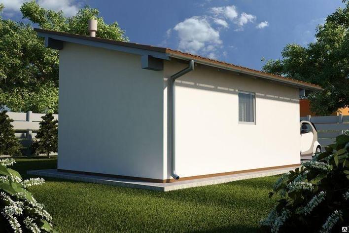 Односкатная  крыша, фото 2