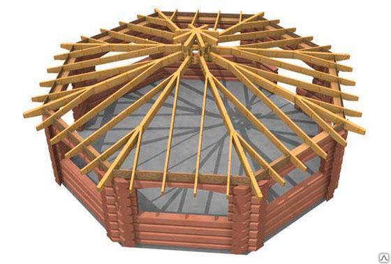Шатровая  крыша, фото 2