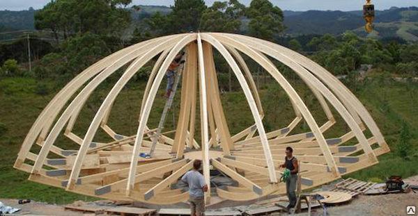 Купольная  крыша, фото 2