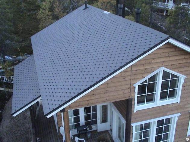 Мансардная  крыша с дополнительным скатом, фото 2