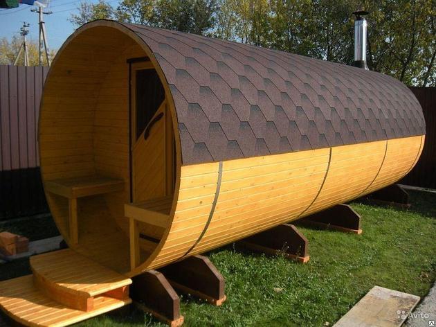 Бочкообразная  крыша, фото 2