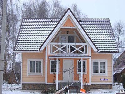 Крестовая  крыша, фото 2