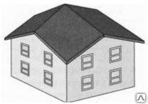 Ромбовидная  крыша