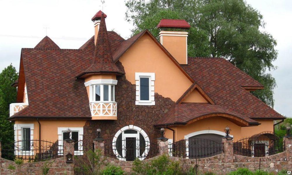 Крыши  сложной формы