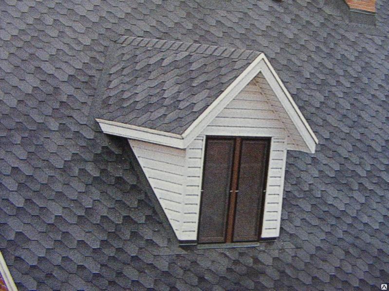Крыша со  слуховым окном