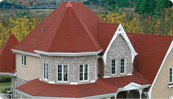Комбинированная  крыша, фото 2