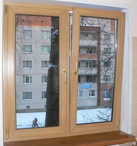 ПВХ окна  с ламинацией, фото 2