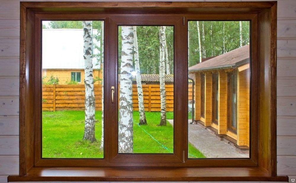 ПВХ окна  в дом