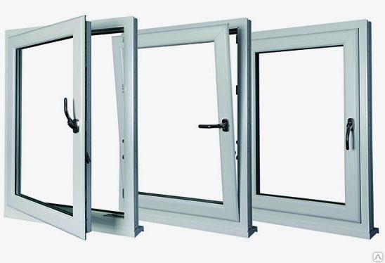 ПВХ окна  поворотно-откидные
