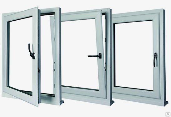 ПВХ окна  поворотно-откидные, фото 2