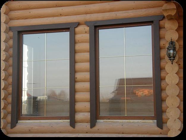 ПВХ окна  глухие, фото 2
