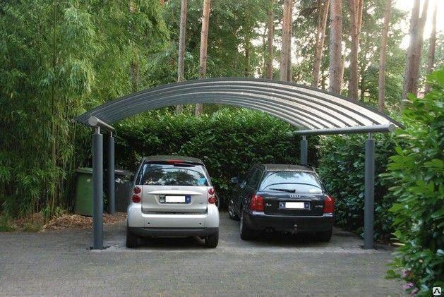 Навес для двух  автомобилей, фото 2