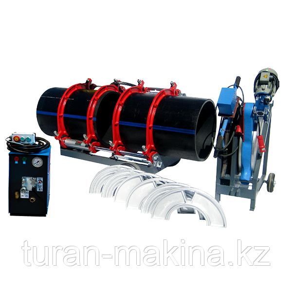 Сварочный аппарат стыковой сварки труб Turan Makina AL 800