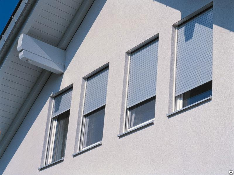 Защитные роллеты на  окна