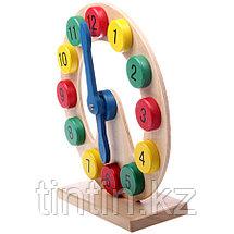Детские деревянные часы, фото 3